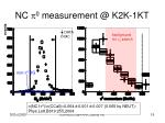 nc p 0 measurement @ k2k 1kt