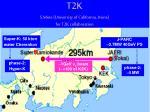 t2k s mine university of california irvine for t2k collaboration