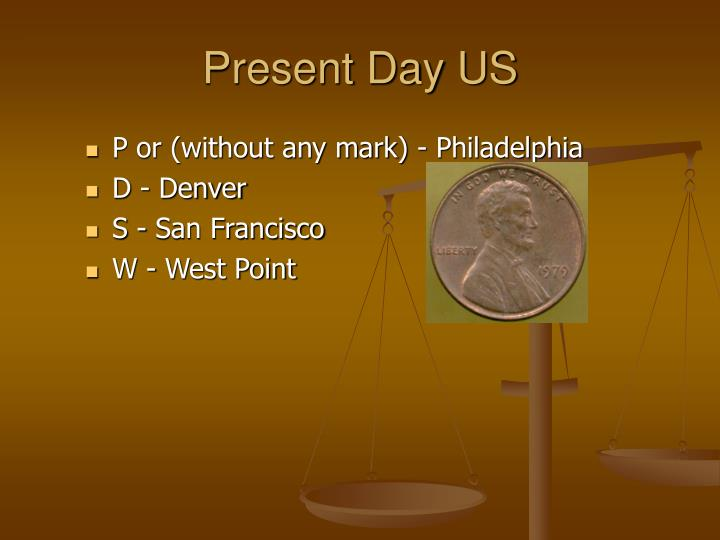 Present day us