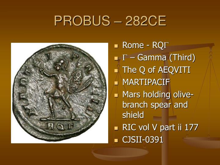 PROBUS – 282CE