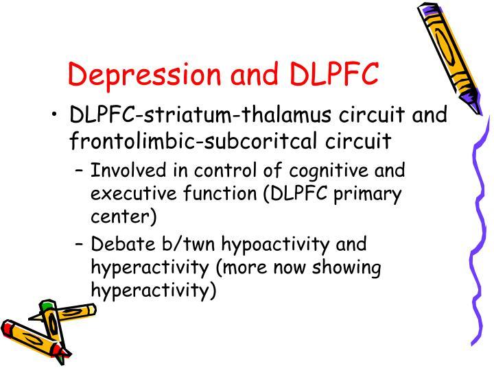 Depression and DLPFC