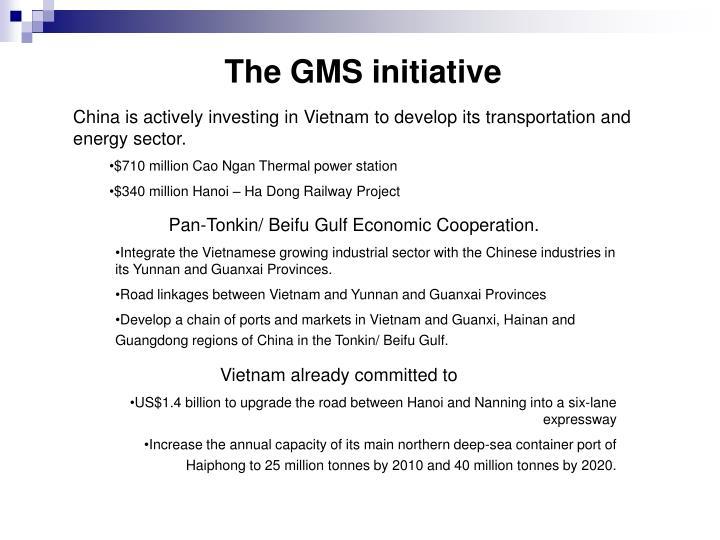 The GMS initiative