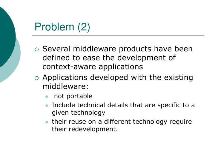 Problem (2)