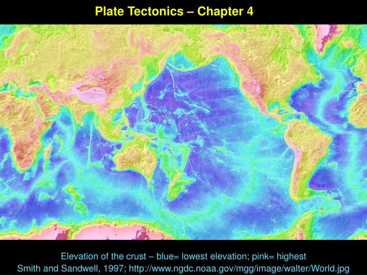 Plate Tectonics – Chapter 4