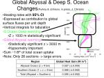 global abyssal deep s ocean changes purkey johnson in press j climate
