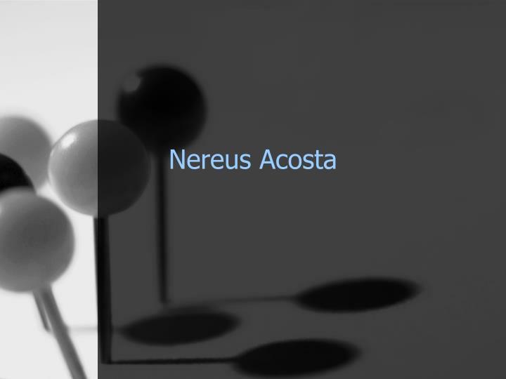 Nereus Acosta