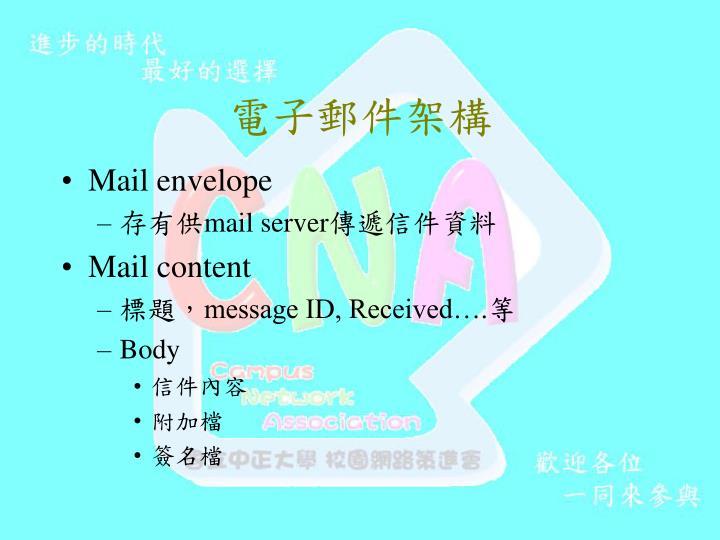 電子郵件架構