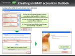 creating an imap account in outlook2