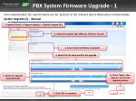 pbx system firmware upgrade 1