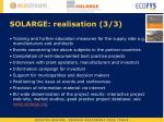 solarge realisation 3 3