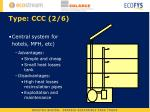 type ccc 2 6