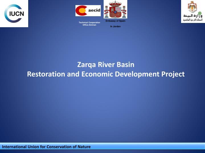 zarqa river basin restoration and economic development project n.