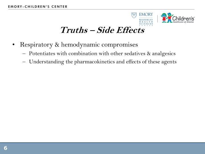 Truths – Side Effects