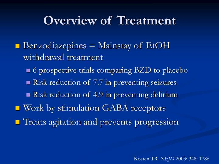 Overview of Treatment