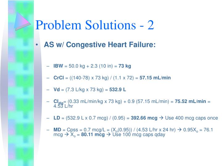 Problem Solutions - 2