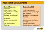 associated sms elements
