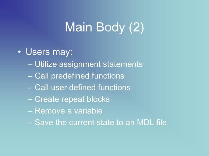 Main Body (2)