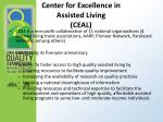 center for excellence in assisted living ceal