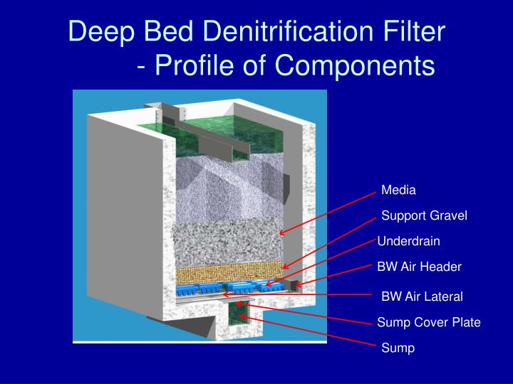 Deep Bed Denitrification Filter