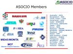 asocio members