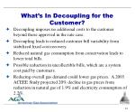 what s in decoupling for the customer