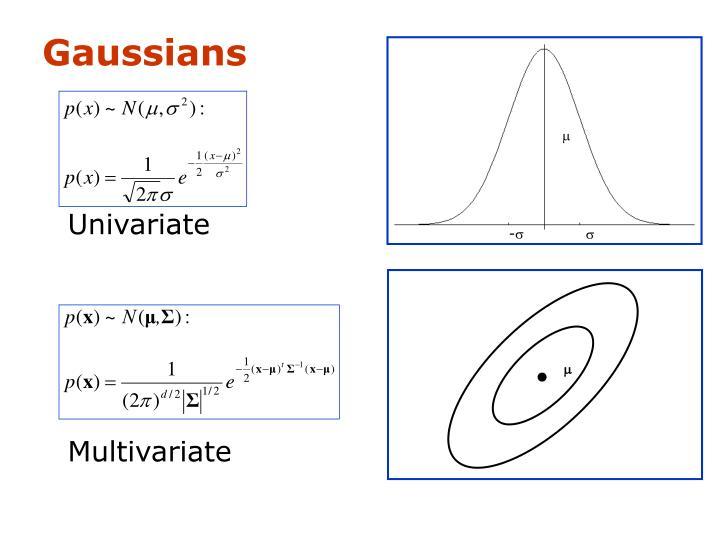Gaussians