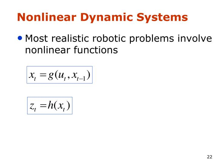 Nonlinear Dynamic Systems