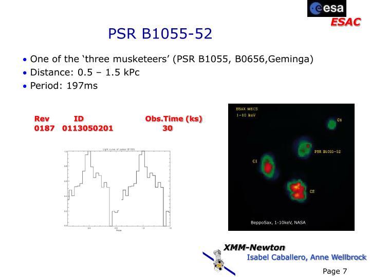 PSR B1055-52