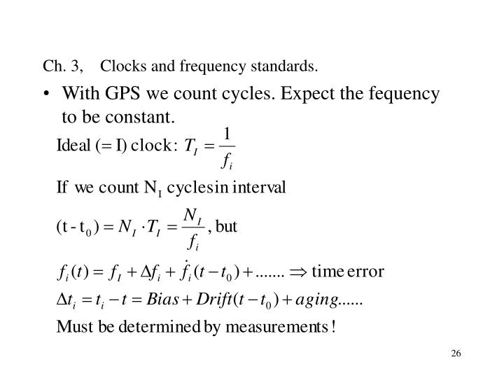 Ch. 3,    Clocks and frequency standards.