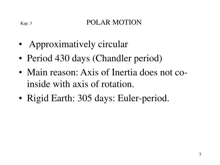 Kap 3 polar motion