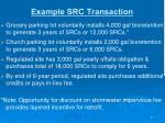 example src transaction