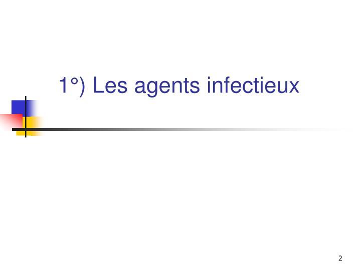 1 les agents infectieux
