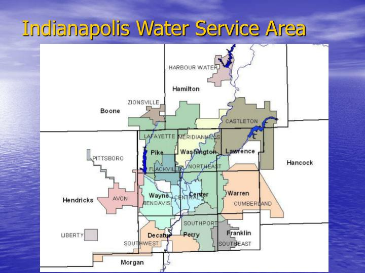 Indianapolis Water Service Area