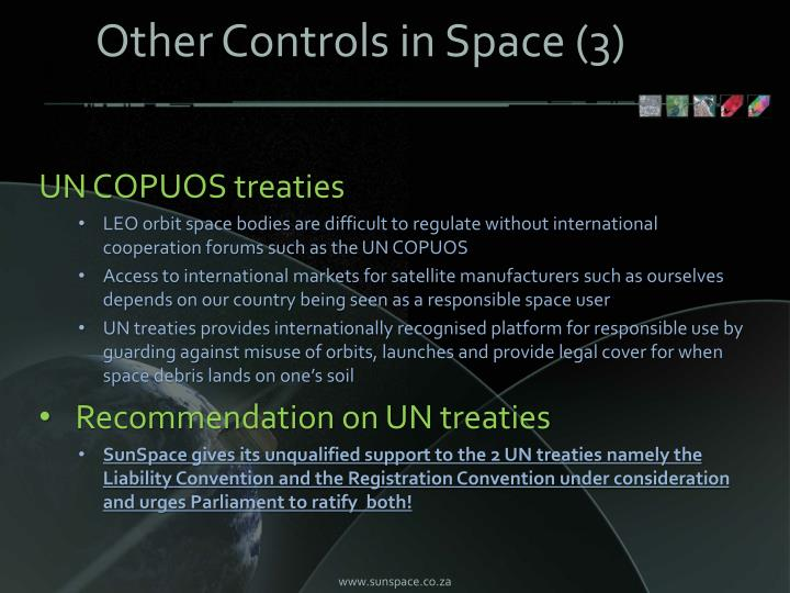 Other Controls in Space (3)