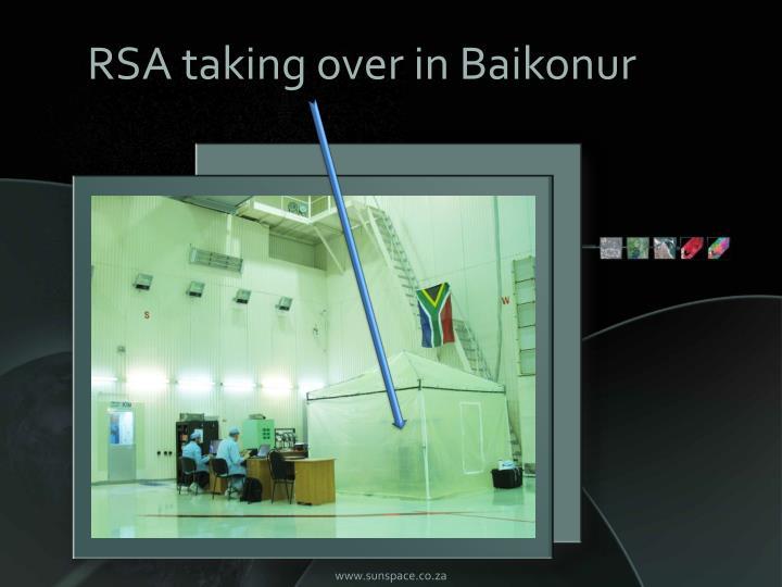 RSA taking over in Baikonur