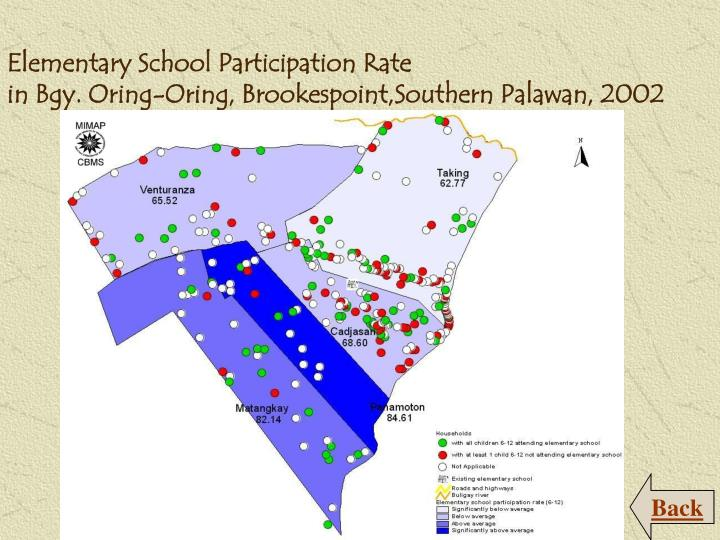Elementary School Participation Rate