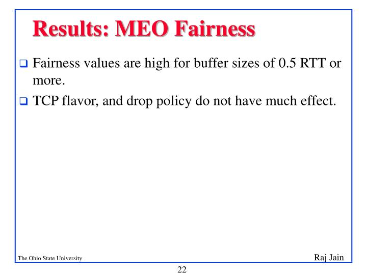 Results: MEO Fairness
