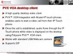 pvx voa desktop client