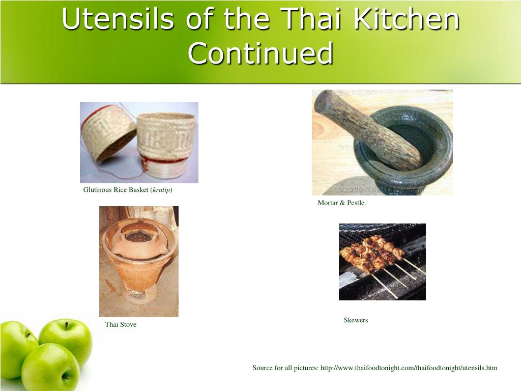 Ppt The Cuisine Of Thailand Powerpoint Presentation