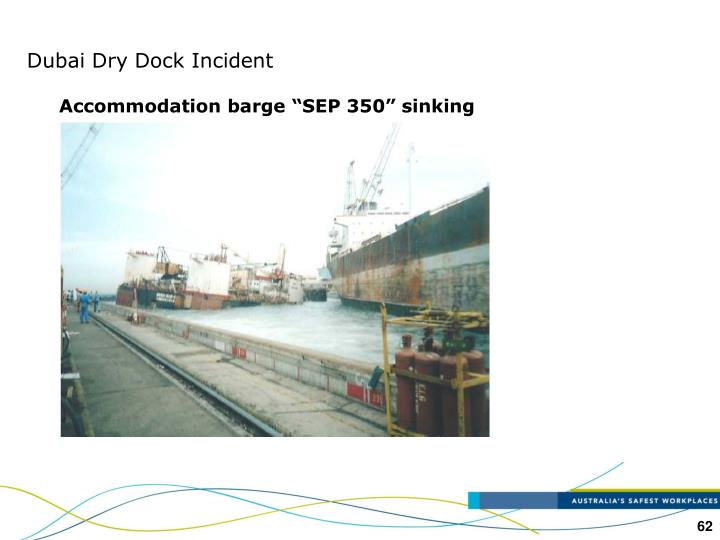 Dubai Dry Dock Incident