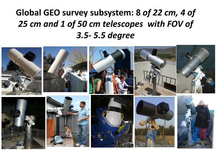 Global GEO survey subsystem: 8