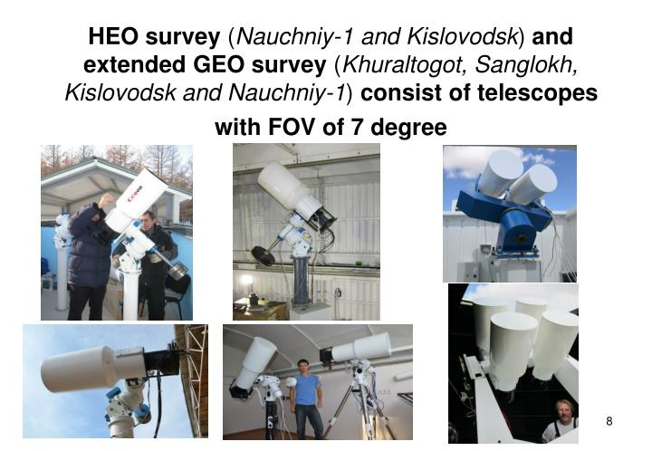 HEO survey