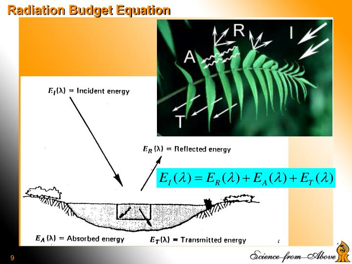Radiation Budget Equation