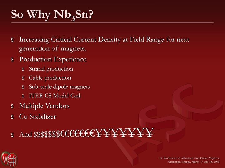 So Why Nb
