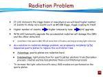 radiation problem