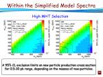 within the simplified model spectra1