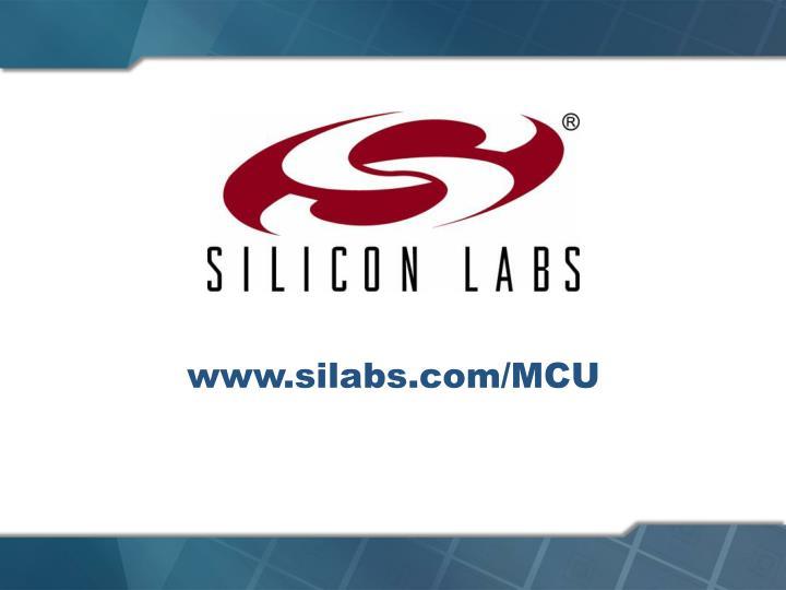 www.silabs.com/MCU