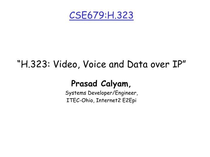 cse679 h 323 n.