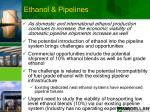 ethanol pipelines