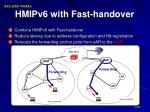 hmipv6 with fast handover